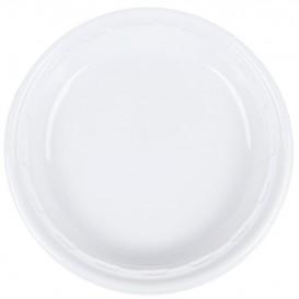 """Assiette en Plastique PS """"Famous Impact"""" Blanc Ø260mm (125 unités)"""