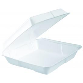 Boîte en FOAM MenuBOX Blanc 240x235mm (200 Utes)