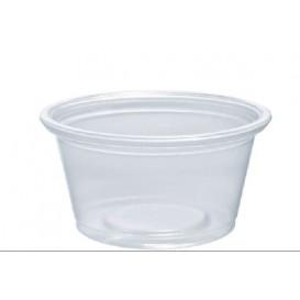 Pot en Platique PP à Sauce 25ml Ø48mm (125 Unités)