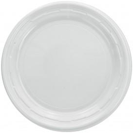 """Assiette en Plastique PS """"Famous Impact"""" Blanc Ø150mm (1000 unités)"""