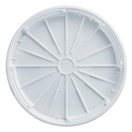 Couvercle Plastique PS à Pizza Blanc 320mm (200 Unités)