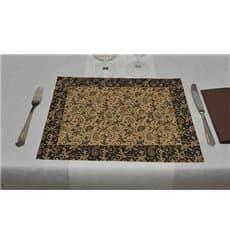 """Set de Table papier 30x40cm """"Cachemire"""" Kraft 50g (500 Utés)"""