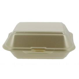 Boîte en FOAM LunchBOX Champagne 185x155x70mm (125 Unités)