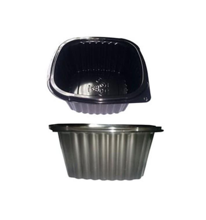 Barquette Plastique Noire PP 500ml (100 Utés)