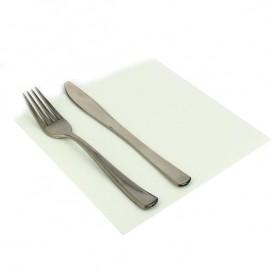 Serviette Papier Blanc 2E Molletonnée 33x33cm (1350 Unités)