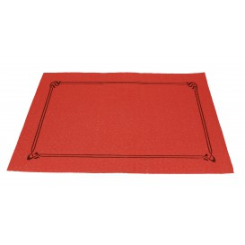Set de Table papier 30x40cm Rouge Orla 40g (1.000 Utés)