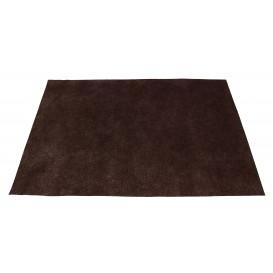 Set de Table en PP Non-Tissé Marron 30x40cm 50g (500 Utés)
