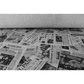 """Nappe papier en ROULEAU """"Presse"""" Blanc 1,2x100m 37g (6 Unités)"""