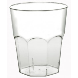 Verre Plastique Cocktail Transp. PS  Ø73mm 220ml (1000 Utés)