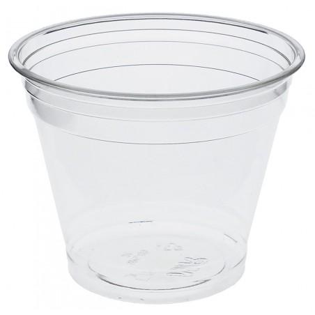 Gobelet Plastique Rigide Bas en PET 9oz 265ml Ø9,5cm (1000 Unités)