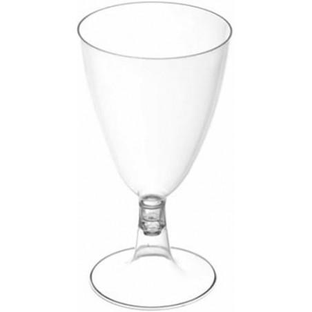 Coupe Jetable Plastique Eau ou Vin 200 ml (25 Unités)