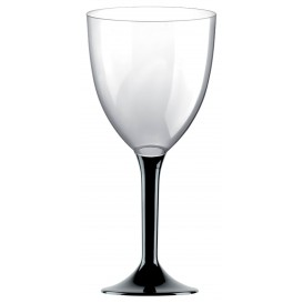 Flûte en Plastique Vin Noir 300ml (20 Unités)