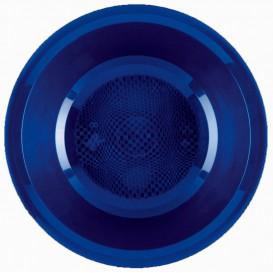 Assiette en Plastique Creuse Bleu Round PP Ø195mm (50 Utés)