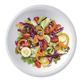 Assiette en Plastique Fond Blanc Ø195mm (300 Utés)