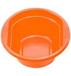 Bol Plastique PS Orange 250ml Ø12cm (30 unités)