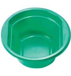 Bol Plastique PS Vert 250ml Ø12cm (30 unités)