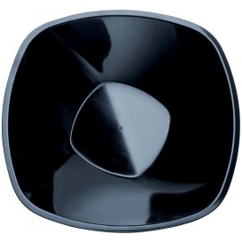 Bol en Plastique Noir Ø277mm 3000ml (15 Utés)