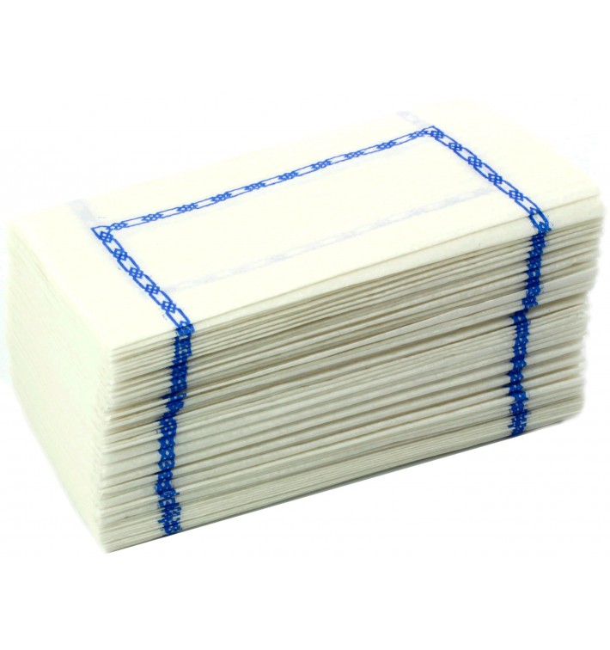 Serviette papier 14x14cm ZIGZAG (250 Unités)
