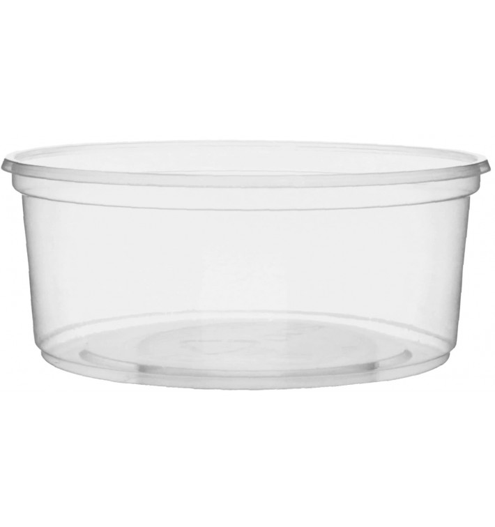 Pot en Plastique Transparent 200 ml Ø10,5cm (50 Unités)