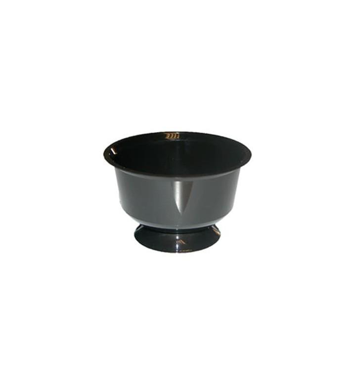 Coupe Cocktail ou Glace Plastique Noire 150 ml (10 Unités)
