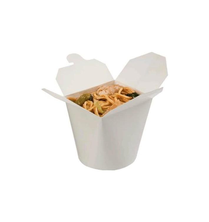 Pot à Pâtes Blanc 529ml (50 Unités)