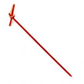 Pique en Bambou Boucle Rouge 90mm (5000 Unités)