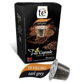 Capsules Nespresso* Compatible Thé Noir Earl Grey (10 Unités)