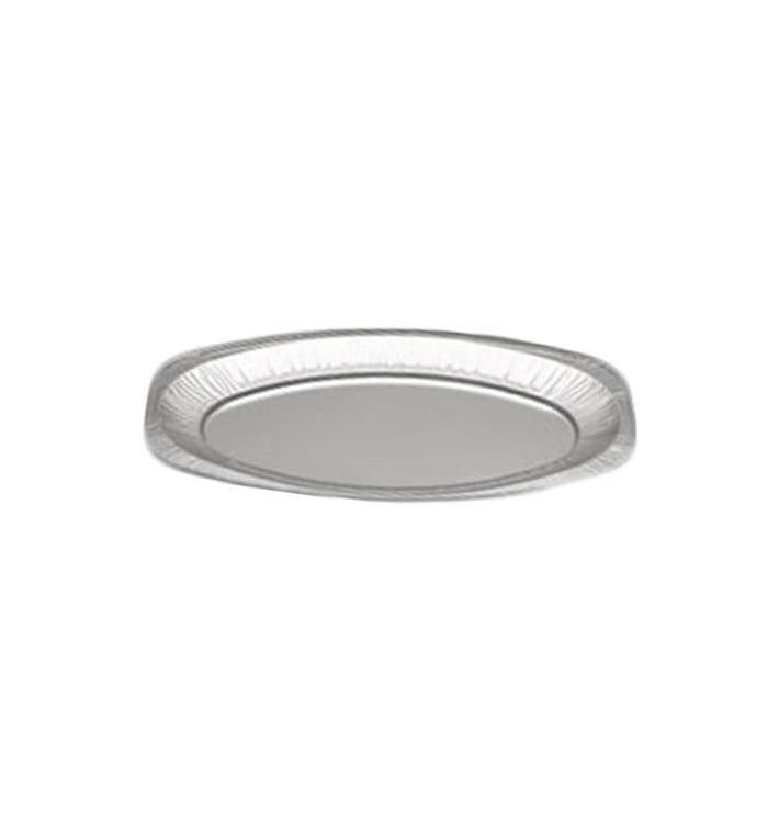 Plat Oval Aluminium 1650ml (10 Unités)