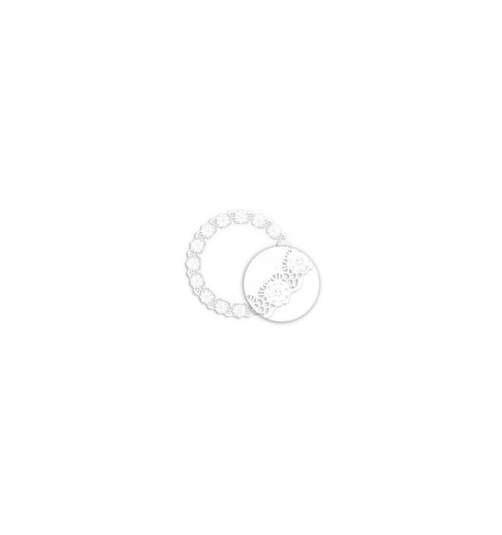Dentelle en papier blanc 255mm (2000 unités)