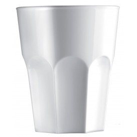Verre Plastique Transparent SAN Ø85mm 400ml (5 Utés)