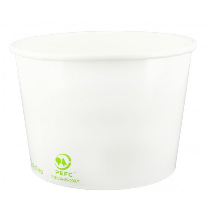 Pot à glace en Carton Ecologique 260ml (1320 Utés)