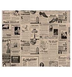 Papier Ingraissable Kraft Journaux 31x31cm (4000 Utés)