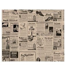 Papier Ingraissable Kraft Journaux 31x31cm (1000 Utés)