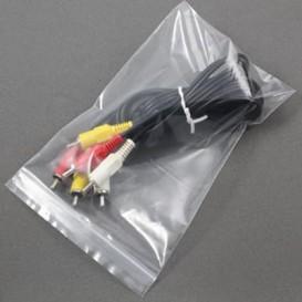 Sac en PE Fermeture Zip 18x25cm G160 (100 Utés)