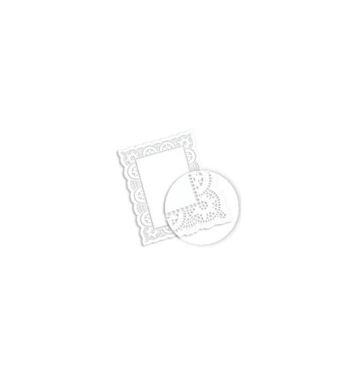 Dentelle Rectangle en papier 32x47cm (250 unités)