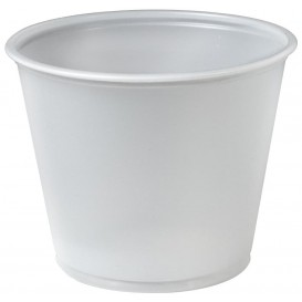 Pot à Sauce Plastique PS Trans. 165ml Ø7,3cm (2500 Utés)