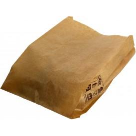 Sac Papier Kraft 14+7x24cm (250 Unités)