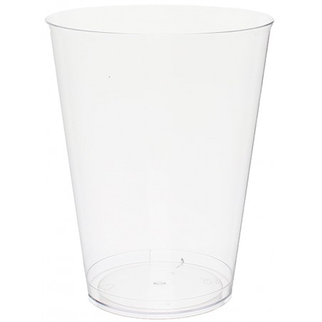 Verre Plastique 500ml PS cristal Transparent (25 Utés)