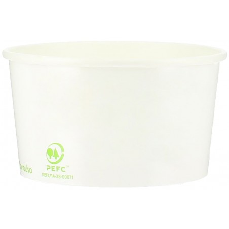 Pot à glace en Carton Ecologique 195ml (45 Utés)