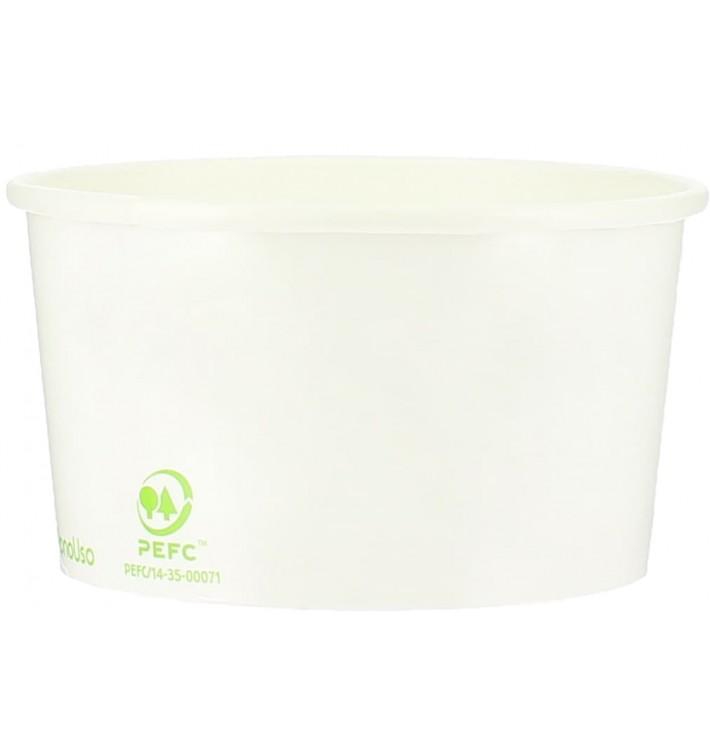 Pot à glace en Carton Ecologique 140ml (2100 Utés)