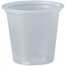 Pot en Platique PP à Sauce Transp. 35ml Ø48mm (250 Unités)