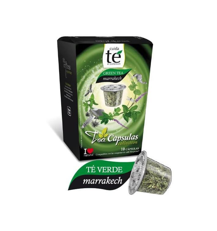 Capsules Nespresso* Compatible Thé Vert Marrakech (10 unités)