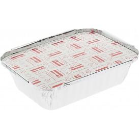Couvercle Carton Barquette Aluminium 360ml (500 Utés)