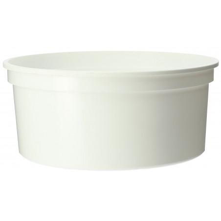 Pot en Plastique Blanc 350 ml  Ø11,5cm (50 Utés)