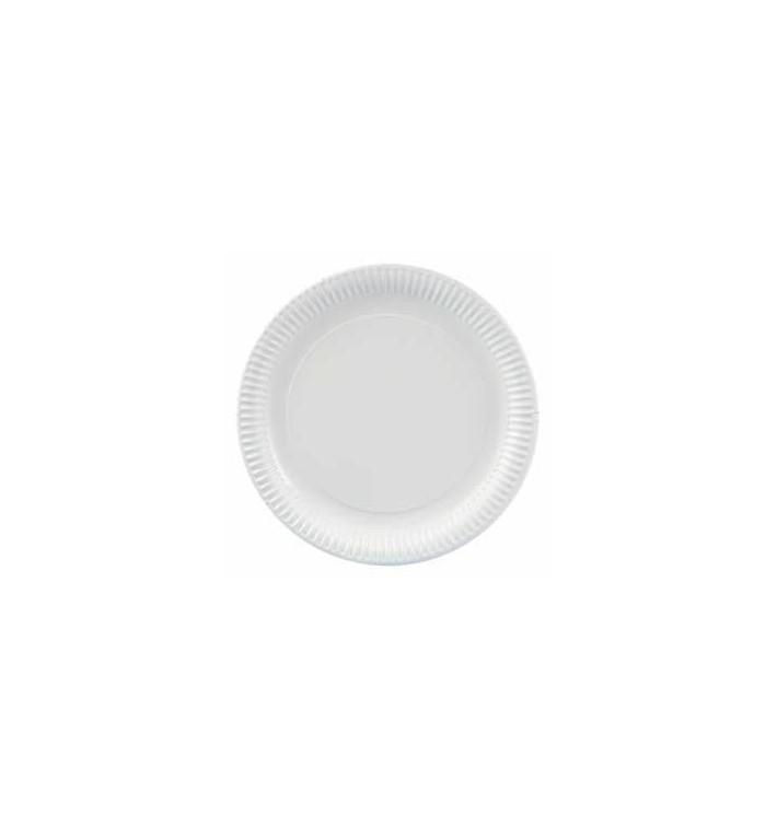 Assiette en Carton Ronde 180 mm (400 Unités)