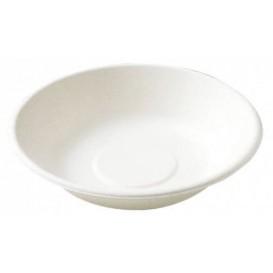 Assiette Creuse Canne à Sucre Blanc Ø190mm (1000 Utés)