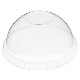 Couvercle Dôme Fermé PET Cristal Ø9,3cm (1000 Utés)