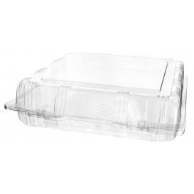 Boîte à charnière Pour Pâtisserie PET 22x22x6cm (20 Utés)