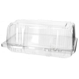 Boîte à charnière Pour Pâtisserie PET 18x9,5x8cm (220 Utés)