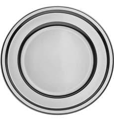Assiette en Plastique PET Or 18cm (180 Utés)